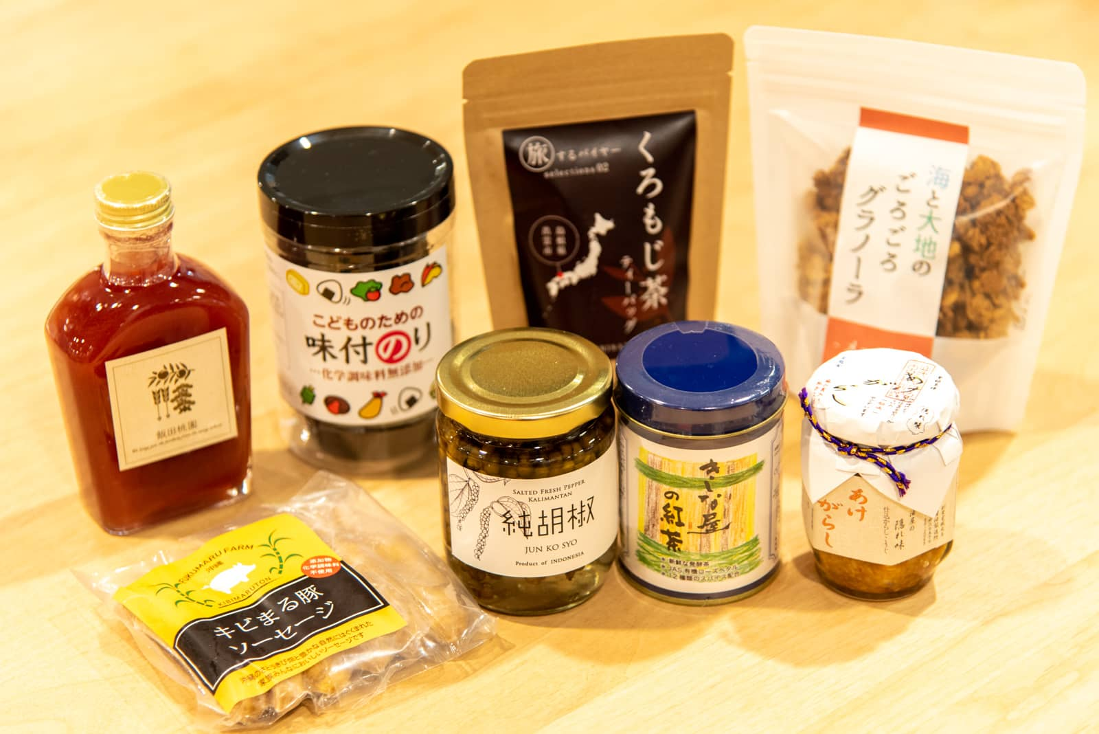 日本全国から良いものだけを。